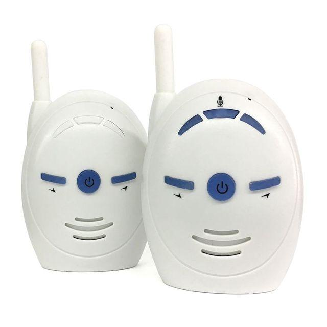 V20 נייד בייבי סיטר 2.4GHz בייבי מוניטור אודיו דיגיטלי קול שידור דיבור כפול מכשיר קשר (תקע אירופאי) #5