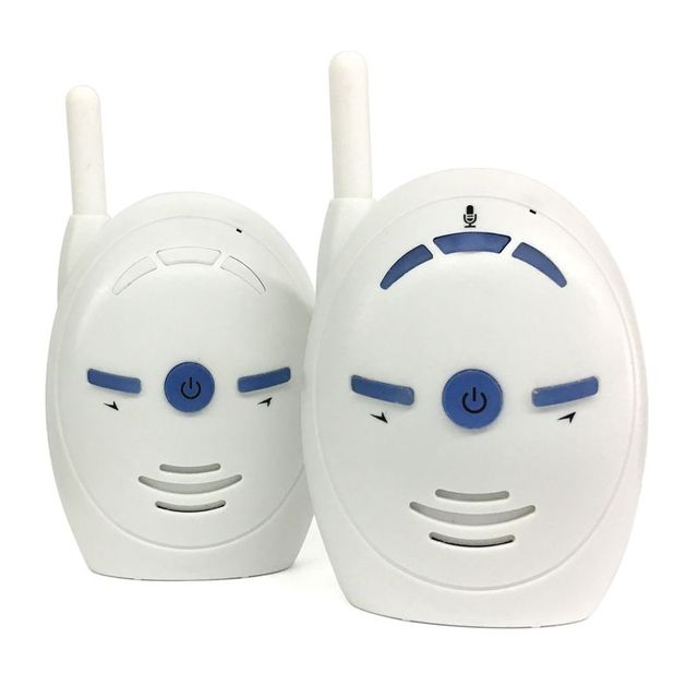 V20 Portable Baby Sitter 2.4GHz Baby Monitor Audio Digital Voice Broadcast Double Talk Walkie talkie(European plug)           #5