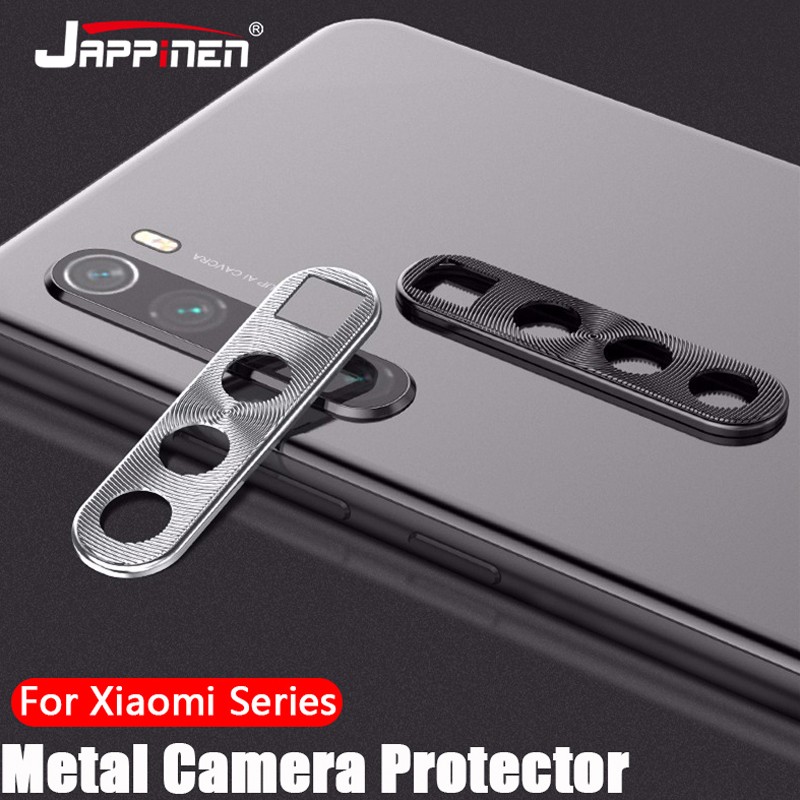 Camera Lens Protective Metal Case For Xiaomi Redmi Note 9 9s 8 8T 7 K20 Mi Note 10 Pro 9T 9 SE 8 A3 CC9 Camera Protector Case(China)