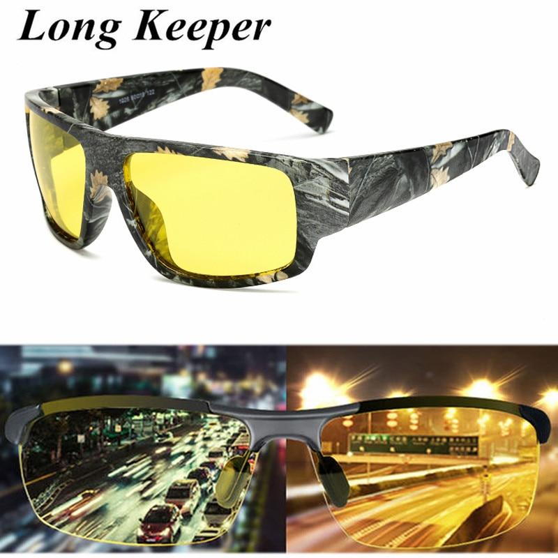 2019 Hot New Polarized Sunglasses Women Night Vision Sun Glasses Men Yellow Lens Eyewear UV400 Driving Goggles Glasses Gafas in Men 39 s Sunglasses from Apparel Accessories