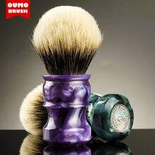 OUMO מברשת OUMO פיורנטינה גילוח מברשת עם מנצ וריה משי WT וו חזיר 10 קשרים שונים כדי לבחור