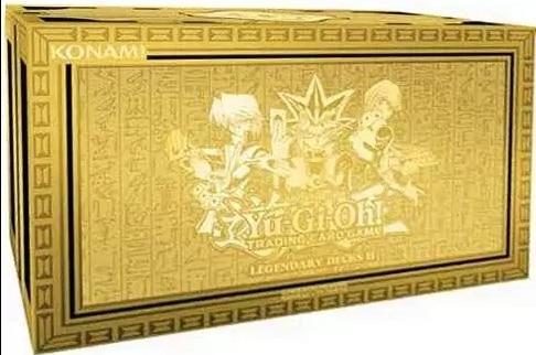 KONAMI Yugioh Cards EN TCG Legendary Deck LED2 Collection Gift Box(China)