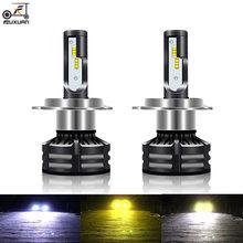Светодиодная автомобильная лампа fuxuan canbus h4 h7 12 В 4300