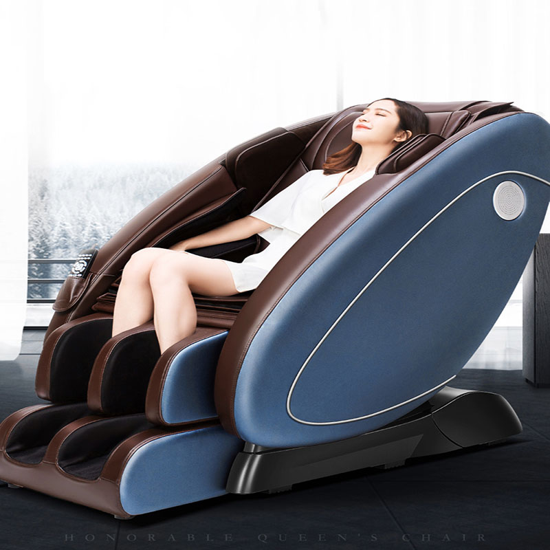 Double SL Massage Chair Household Intelligent Massage Sofa Whole Body Fully Automatic Multifunctional Massage Chair Space Capsul