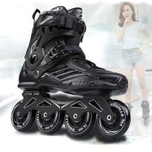 Skating-Shoes Roller Inline-Skates Slalom Seba-Sneakers Sliding-Free Professional Adult