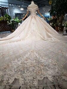 Image 2 - Роскошное Свадебное платье BGW HT43027, 2020 г., Международный модный дизайн, платье для невесты ручной работы, свадебное платье