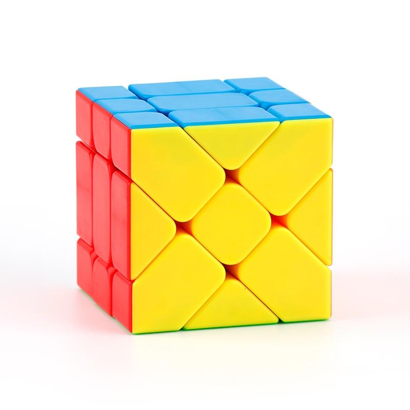 Moyu Meilong MoFangJiaoShi 3x3 Windmill Axis Fisher Magic Cube 3x3x3 Puzzle Twist Educational Kid Toys Games 7