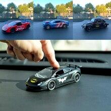 Toy Marvel-Toys Car-Decoration-Model Pull-Back Disney Spiderman Gift Cool Captain-America