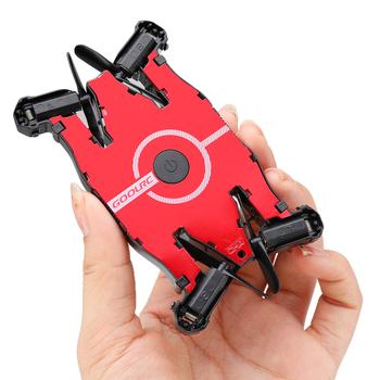 JJRC T49 Wifi FPV Mini dron do Selfie kamera HD Auto składane ramię zdalnie sterowany Quadcopter helikopter prezent na boże narodzenie Kid VS H37 E57 tanie i dobre opinie Z włókna węglowego Metal Z tworzywa sztucznego About 45 mins As Description Show Mode2 Silnik szczotki 4 kanałów Pilot zdalnego sterowania