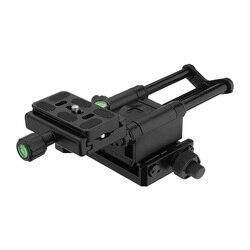 4 Way Macro Focusing Rail Slider for Canon Nikon SLR Camera FKU66