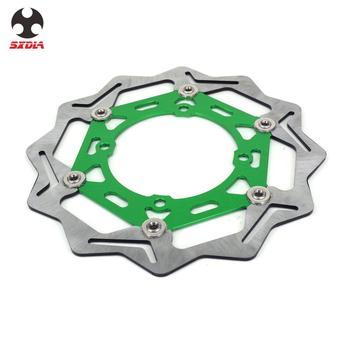 Motorcycle 270mm Floating Brake Discs Rotor For KAWASAKI KX125 KX250 KX250F KLX450R KX450F KX 125 250 250F 450F KLX 450R