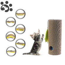 Scratching for Pets Cat Toy Scratch Corrugated Paper Board House Post Scratcher Products TY0011