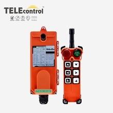 Uting 6 únicos botões F21 E1 telecontrol de controle remoto rádio industrial para grua de guindaste