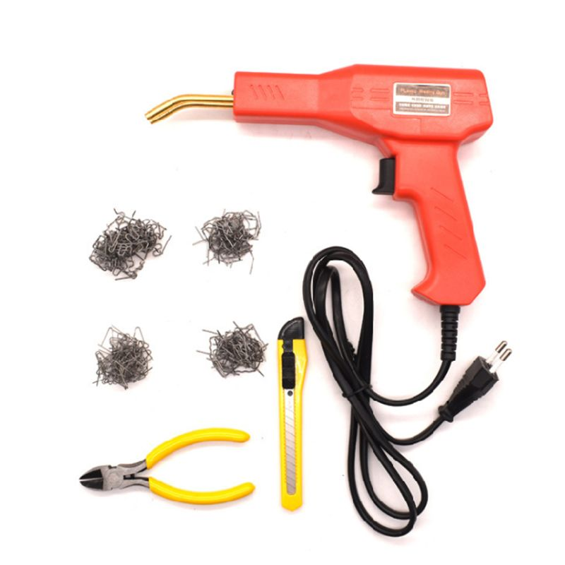 50W Hot Stapler Machine Handy Plastic Welder Garage Tools Repairing Kits For PVC Car Bumper