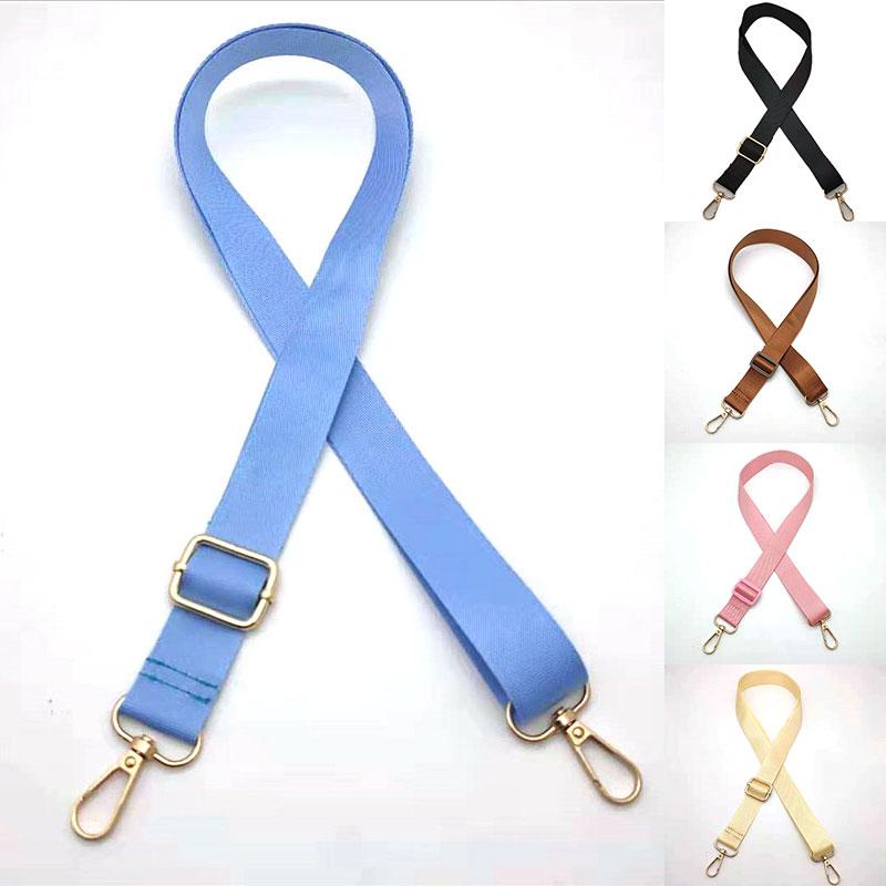 Wide Candy Color Bag Strap For Women Shoulder Handbags Decorative Messenger Belt For Handle Crossbody Bag Accessories
