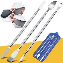 3 шт. набор инструментов для ремонта, открывания, ручного инструмента, лезвие для смартфона, планшета, ПК, металлический инструмент для разборки, набор инструментов для IPhone/IPad/планшета