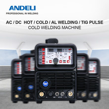 ANDELI Smart TIG-250PL AC DC TIG Welder TIG Pulse Cold Welding Machine TIG Aluminum with Aluminum Alloy TIG Welding Machine