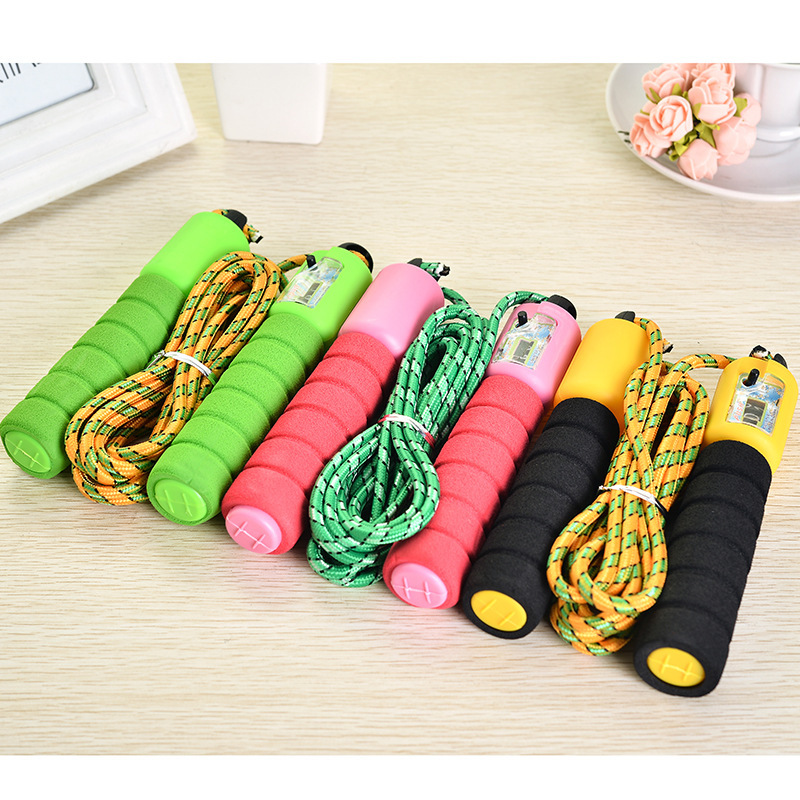 Sports Count Jump Rope Profession Adult Pattern Tiaoshen Rope Students The Academic Test For The Junior High School Students Fit