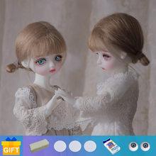 LCC – poupée articulée BJD Bitsie & Liss 1/6, ensemble complet de jouets en résine pour enfants, cadeau Surprise pour filles, Yosd, livraison directe, 2021