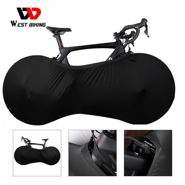 WEST BIKING MTB Road Bike Protector Wheels Cover Dust Proof Scratch proof Indoor Protective Gear 26 27.5 29 700C Storage Bag