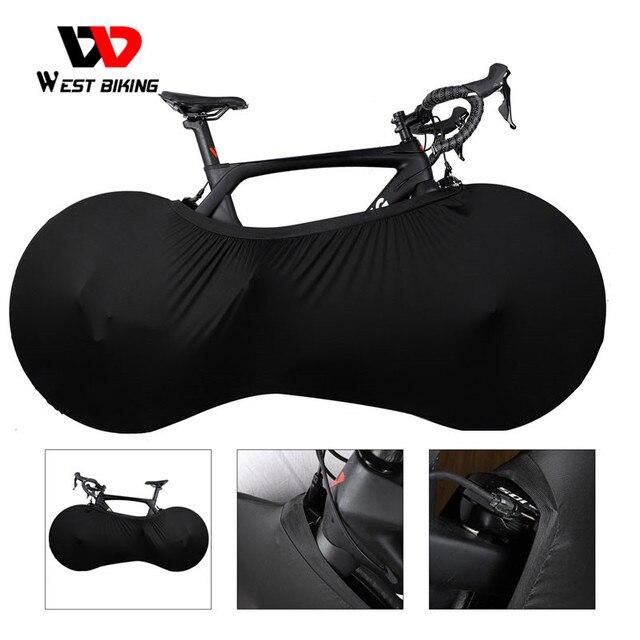 WEST BIKING MTB Road Bike Protector ruote Cover antipolvere antigraffio equipaggiamento protettivo interno 26 27.5 29 700C custodia