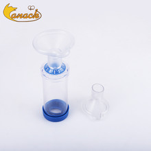 Canack Vaterinary Asthma Inhaler Spacer Devices Aerosol Chamber With One PVC Mask