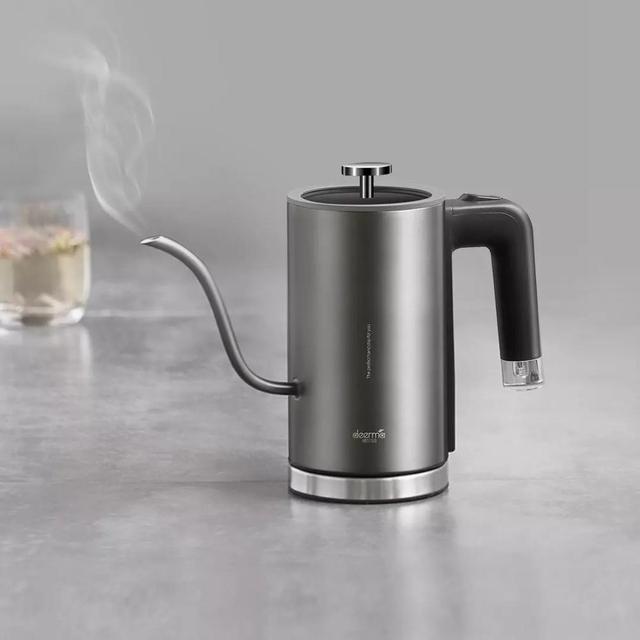 Xiaomi Mijia Deerma Electric Coffee Hand Pot DEM-SC001 8mm Gooseneck Spout Strix Temperature Control System Elegant TeaHand Pot 4