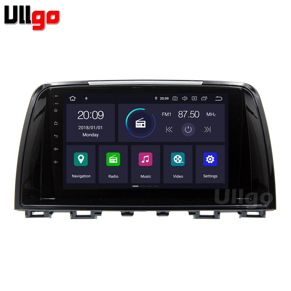 Android 9.0 Car Head Unit for Mazda 6 / Atenza 2013 2014 Autoradio GPS 1 din Car Radio GPS in Dash GPS with BT RDS Mirror-link image