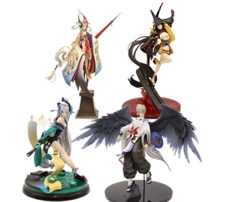 NEW Figure Game Onmyoji Aoandon Zen SSR Demon Knife Statue Sexy Girls PVC Figure Adult Collection Model Toy Gifts Christmas 22cm