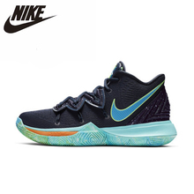 цена NIKE KYRIE 5 EP New Arrival Men Basketball Shoes Original Shock Absorbing Lightweight Breathable Sneakers #AO2919