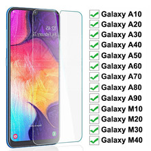 9H Protective Glass on the For Samsung Galaxy A10 A20 A30 A40 A50 A60 Screen Protector Samsung A70 A80 A90 Glass M10 M20 M30 M40