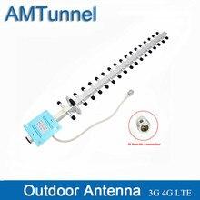 Antena yagi para exteriores 3G 4G, 1710 2170Mhz, direccional, 20dBi, para amplificador de señal móvil