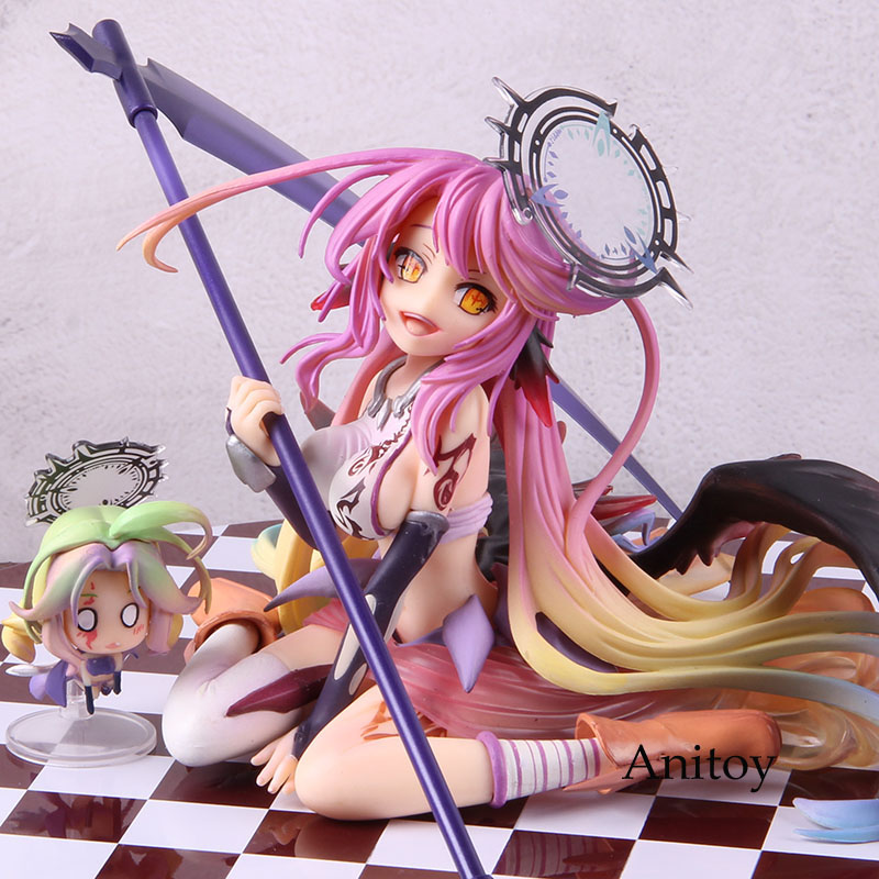 NO GAME NO LIFE Angel Jibril 1//7 Scale Model Doll Anime Action Figure Toy Decor