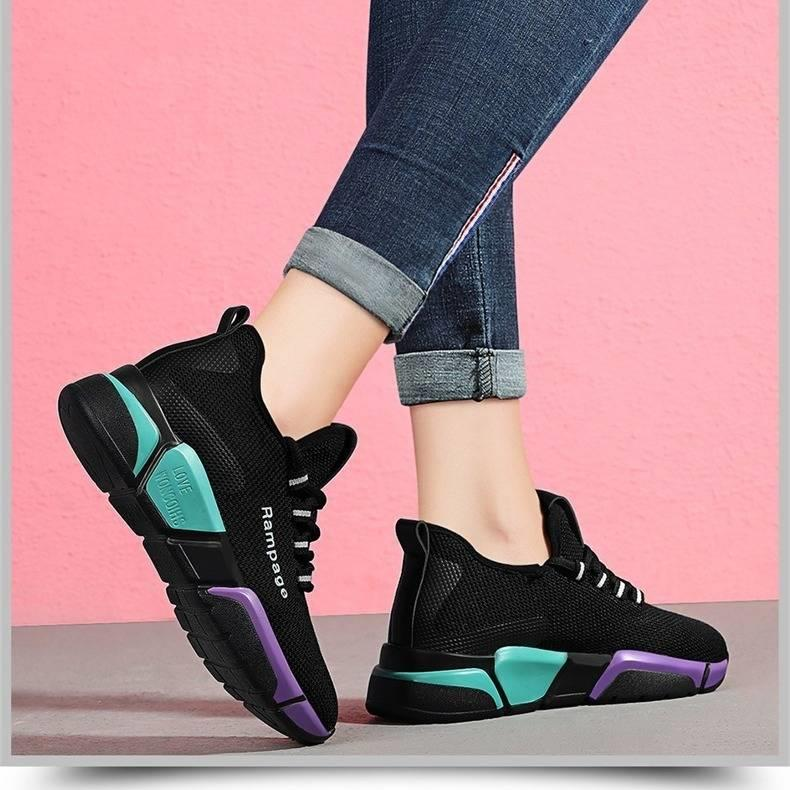 Running Shoes For Women 2020 Hot Sale Summer Breathable Soft Air Mesh Sneakers Women Walking Jogging Trainers Chaussures Femme