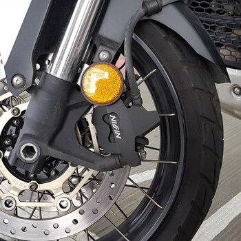 Accesorios para motocicletas mtkracing para la protección de pinzas de freno delantero (left right) del acero inoxidable
