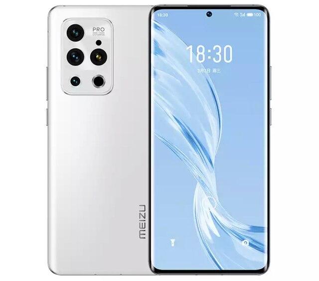 New Meizu 18 Pro 5G Smartphone 6.7inch 120Hz Snapdragon 888 4500mAh 40W 8GB 12GB RAM 128GB 256GB ROM 50MP Camera Google Play NFC 2