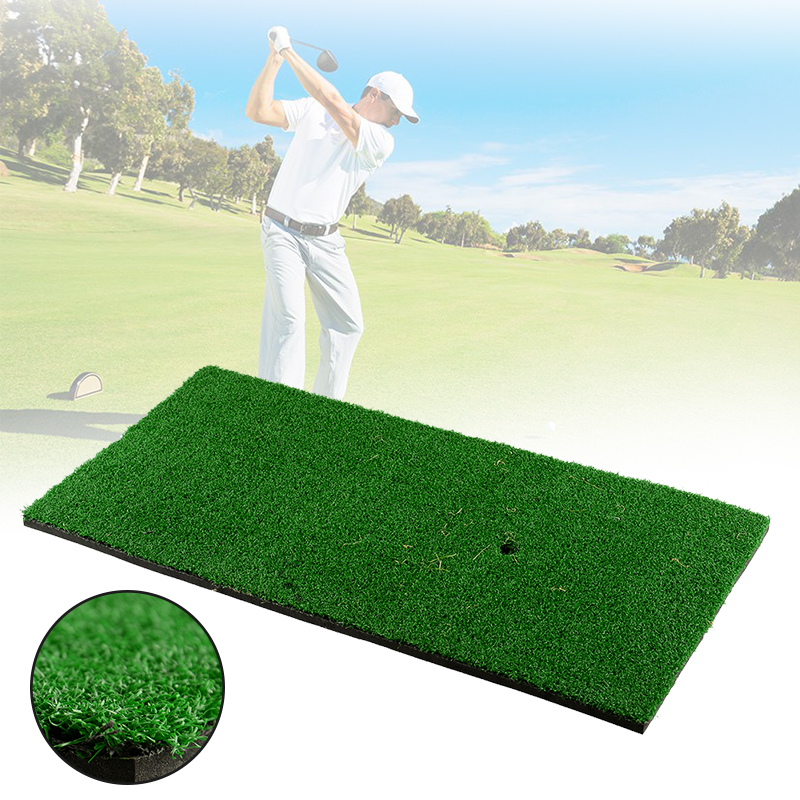 60x30cm Golf Practice Mat Golf Training Aids Outdoor/Indoor Hitting Pad Practice Grass Mat Game Golf Training Mat Backyard