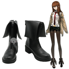 Anime Fate Steins Gate Layer's Gate cosplay Makise Kurisu Hayase Ami Boots Shoes