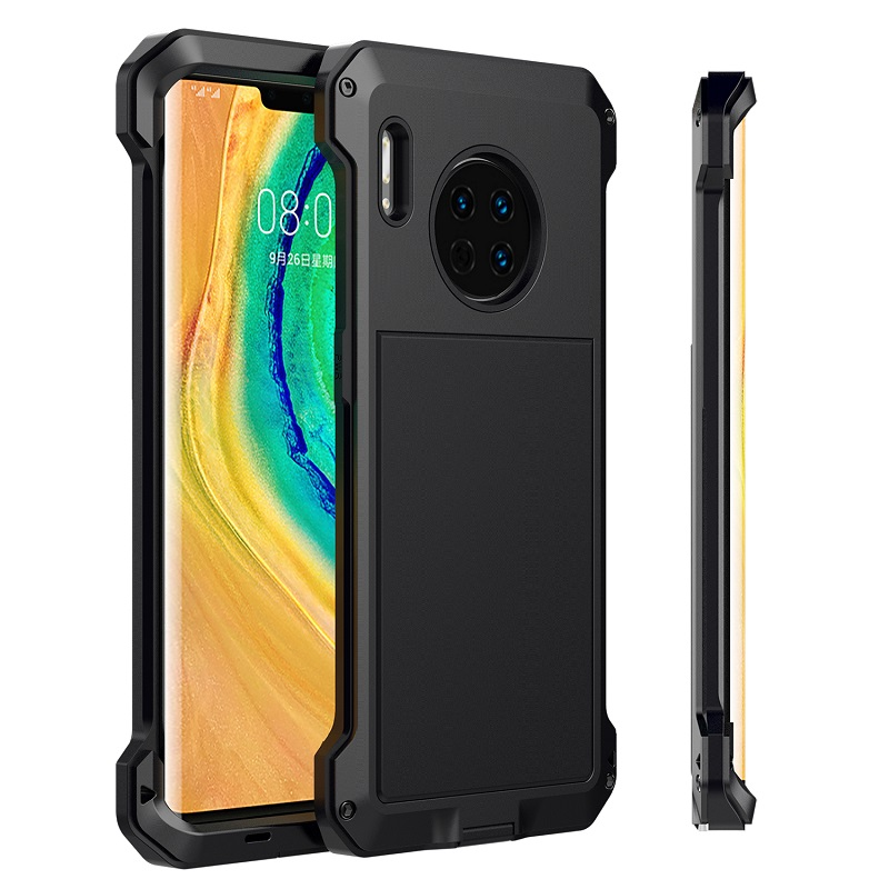 Armor 360 Full Protect Case For Huawei Mate 30 Pro Case Metal R Doom Heavy Duty Metal For Huawei Mate30 Case Shockproof Coque