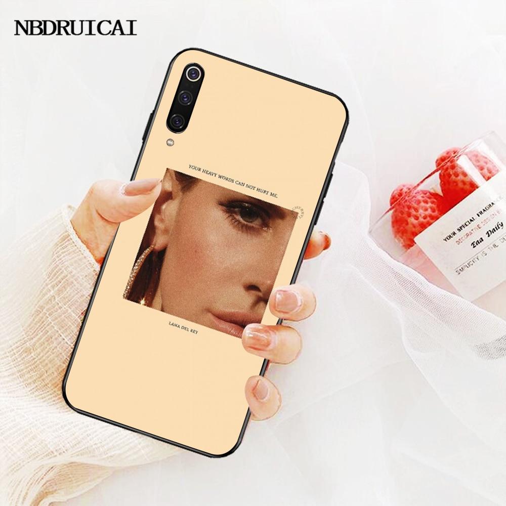 NBDRUICAI Эстетическая Лана Дель Рей красивая девушка чехол для телефона Redmi Note 8 8A 7 6 6A 5 5A 4 4X 4A Go Pro Plus Prime