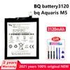 New Original 3120mAh In Stock Phone Battery For BQ Aquaris M5 Phone Genuine Batteries Bateria With Gift Tools+Tracking number