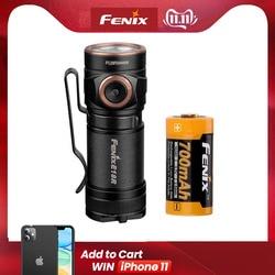 Fenix E18r magnetic absorption charging flashlight portable 123A flashlight 750 lumens ace