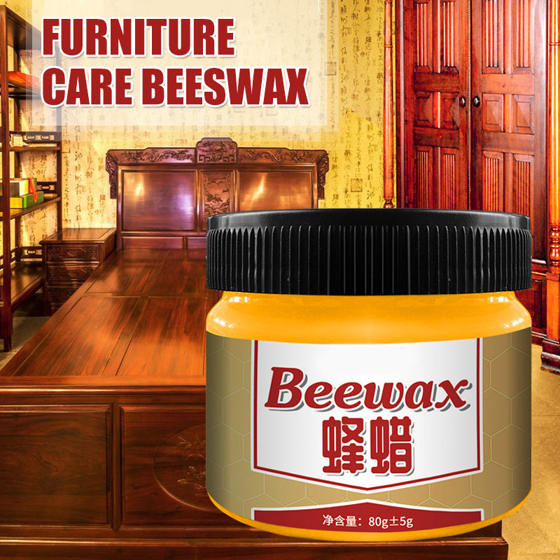 Wood Seasoning Beewax Complete Solution Furniture Care Beeswax Moisture Resistant CLH@8