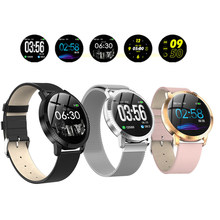 Men's Smart Watch Blood Pressure Heart Rate Monitor IP67 Waterproof Sports Fitness Smart Bracelet Pedometer Message Reminder(China)