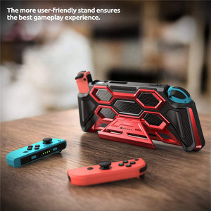 Image 4 - For Nintendo Switch Case Battle Series Mumba Heavy Duty Grip Cover For Nintendo Switch Console with Comfort Padded Hand Grips