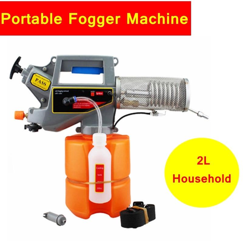 SGODDE 2L Potable Electric ULV Sprayer Disinfectant Fogger Machine Electric Sprayer Fogging Fine Mist Sprayers Nebulizer