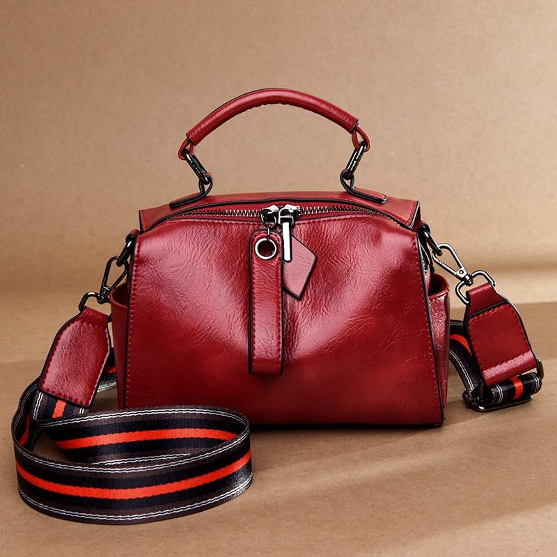 YILIAN Handbag Multi-Function America-Trend Single-Shoulder Fashion Lady ST3060 Oil-Wax