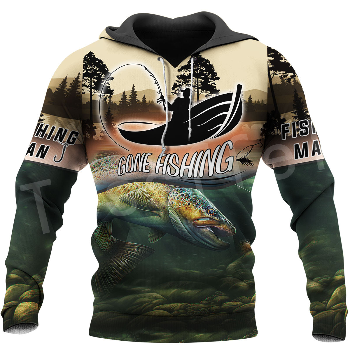 Tessffel NewFashion Animal Marlin Hunting Fishing Harajuku Casual Pullover 3DPrint Zipper/Hoodie/Sweatshirt/Jacket/Men/Women S13