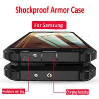 Rüstung Luxus Fall Stoßstange Silikon Telefon Fall Für Samsung Galaxy A50S A70 A10S A20S A30S M10S M20S M30S M40 A5 a7 2018 Fall Abdeckung