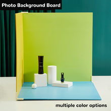 12 Color All-Match 60*60CM Double-Sided Photo Background Board Combination Desktop Studio Fashion Accessories Photography Props